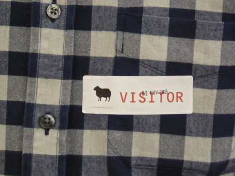 BBH visitor badge