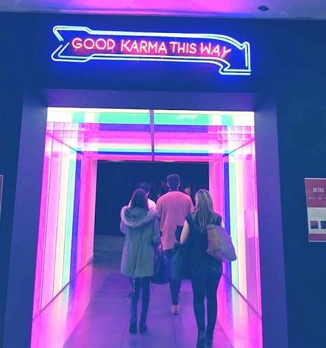 Karmarama time tunnel