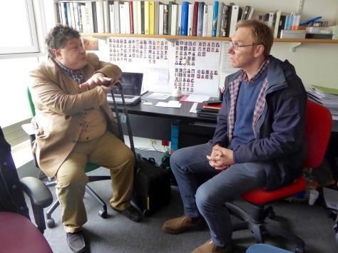 Rory meets Martin Hosken