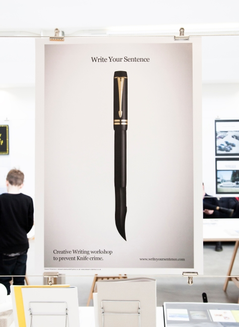 Stuart Robertson's graphic design work on display