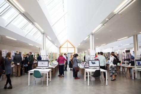 Falmouth University's BaHons Graphic Design Grad show